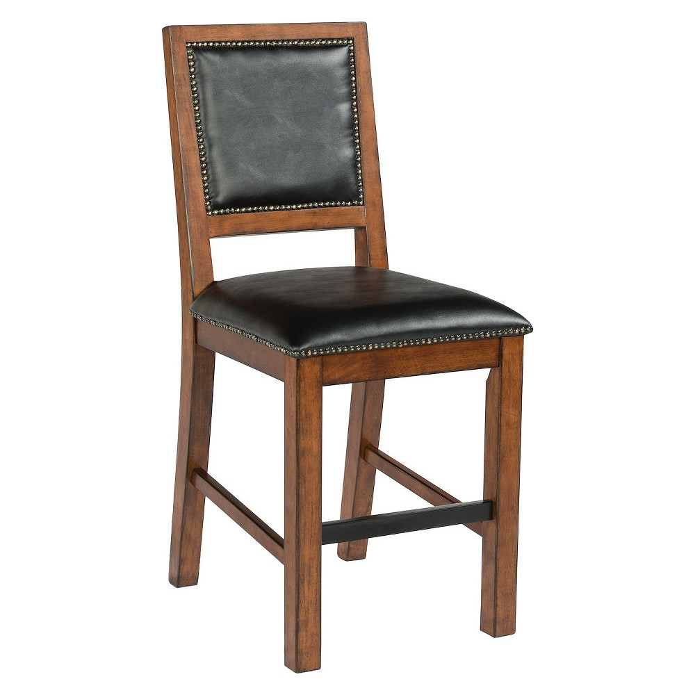 Tahoe Counter Stool - Aged Maple (Brown) - Home Styles