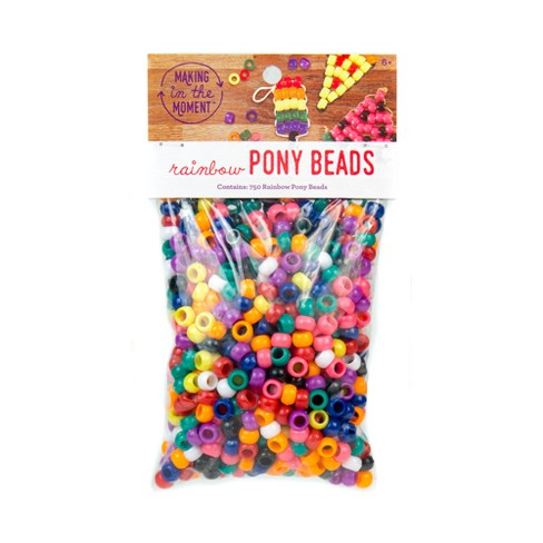 Pony Beads 750ct - Making in the Moment - image 1 of 2
