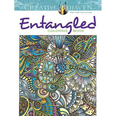 - Creative Haven Entangled Coloring Book - (Adult Coloring) By Angela Porter  (Paperback) : Target