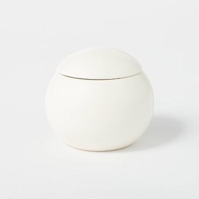 12.5oz Ceramic Sphere Jar Clove and Black Currant Candle - Threshold™ designed with Studio McGee