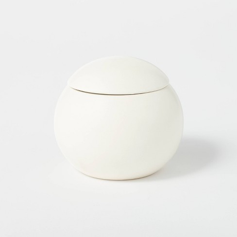 12.5oz Ceramic Sphere Jar Clove and Black Currant Candle - Threshold™ designed with Studio McGee - image 1 of 4