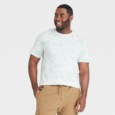 Men's Big & Tall Short Sleeve Novelty Crewneck Jersey T-Shirt - Goodfellow & Co™