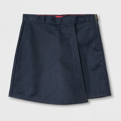 ba0c9dd2d63 Dickies® Girls  Faux Wrap Skort