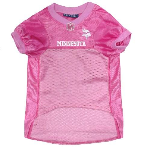 NFL Pets First Pink Pet Football Jersey - Minnesota Vikings   Target 9da164e74