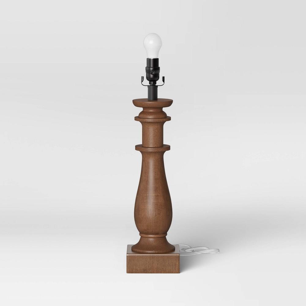 Large Led Lamp Base Brown Includes Energy Efficient Light Bulb Threshold 8482