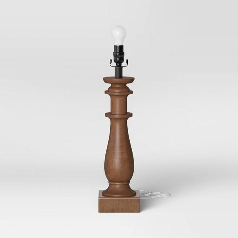 Large  Lamp Base Brown - Threshold™ - image 1 of 2