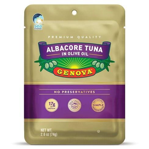 Genova Albacore Tuna in Olive Oil Pouch - 2.6oz - image 1 of 2