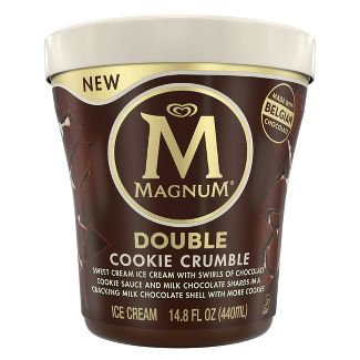 Magnum Tub Double Cookie Crumble Ice Cream - 14.8oz