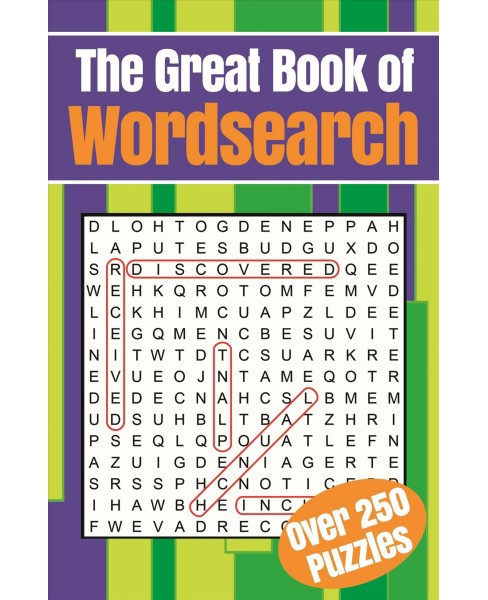 Great Book of Wordsearch -  (Paperback) - image 1 of 1