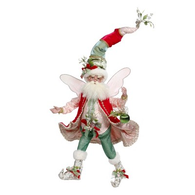 Mark Roberts Products Mark Roberts Red and Green Mistletoe Christmas Fairy, Large 19-Inches