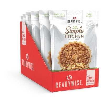 ReadyWise Simple Kitchen Old Fashioned Apple Crisp Freeze-Dried Dessert - 12oz/6ct