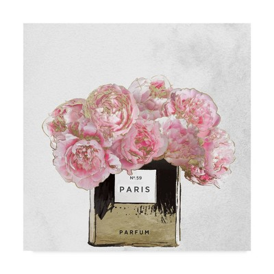 """18"""" x 18"""" Pink Scented by Color Bakery - Trademark Fine Art"""
