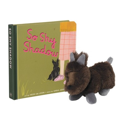 The Manhattan Toy Company Mini Scottie Stuffed Animal and Board Book Gift Set