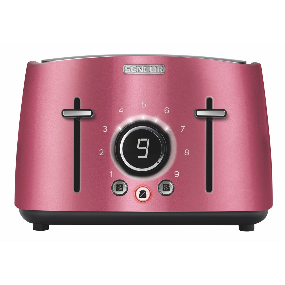 Sencor Metallic 4 Slice Toaster – Red 54281262