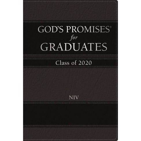 God's Promises for Graduates: Class of 2020 - Black NIV - (God's Promises(r)) by  Jack Countryman - image 1 of 1