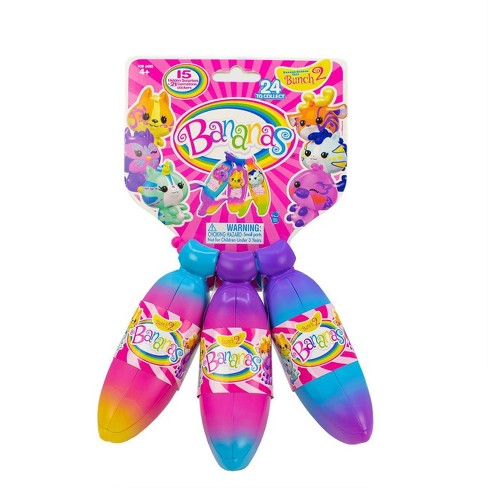 Banana's Collectible Toy 3pk Bunch - image 1 of 4