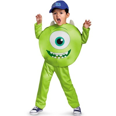 Monsters Inc Monster's University Mike Classic Toddler Costume