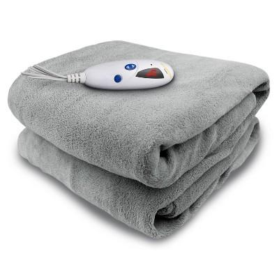 Reversible Microplush Electric Throw Blanket - Biddeford Blankets