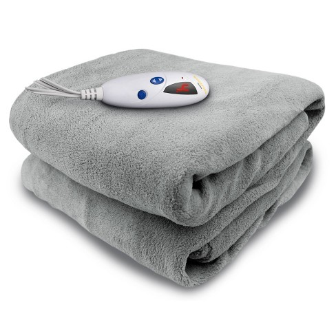 Reversible Microplush Electric Throw Blanket - Biddeford Blankets - image 1 of 4