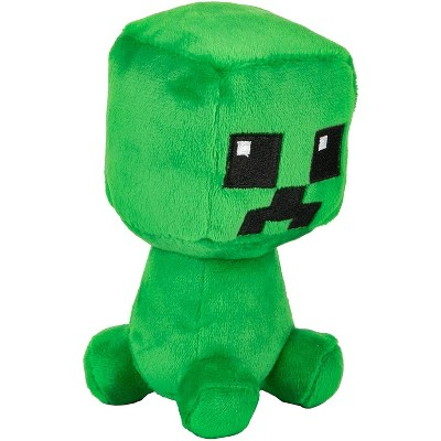 JINX Inc. Minecraft Dungeons Mini Crafter Series 4.5 Inch Plush | Creeper