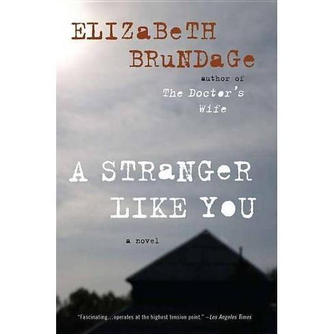 A Stranger Like You - by  Elizabeth Brundage (Paperback) - image 1 of 1