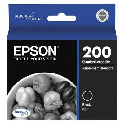 Epson 200 Single, 2pk, 3pk, & 4pk Ink Cartridges - Black, Yellow, Magenta, Cyan, Multicolor
