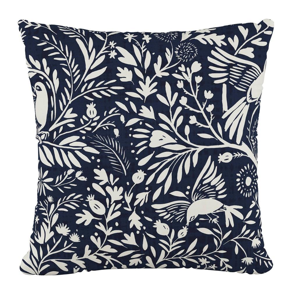 Discounts Suki Chinois Outdoor Throw Pillow Navy - Skyline Furniture