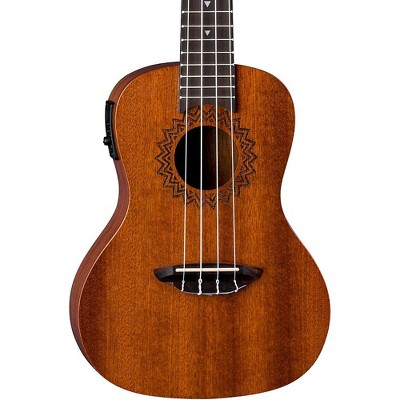 Luna Guitars Vintage Mahogany Concert Acoustic-Electric Ukulele Satin Natural