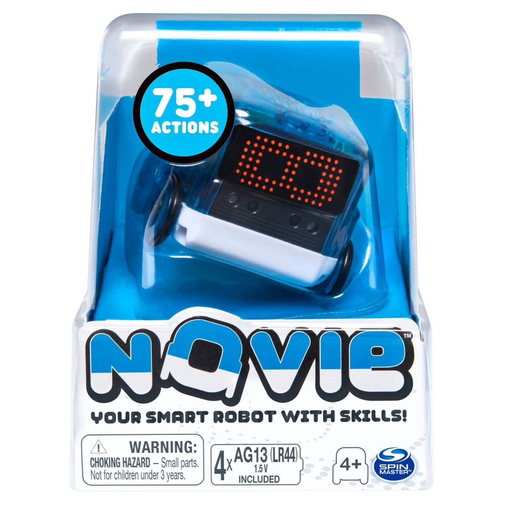 Novie Interactive Smart Robot with Over 75 Actions and Learns 12 Tricks (Blue)