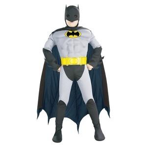 Halloween Batman Toddler Muscle Costume 2T-4T, Men