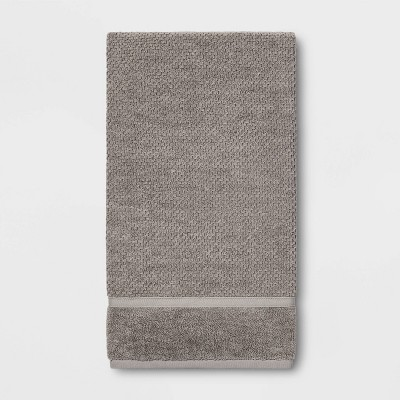 Performance Texture Bath Sheet Gray - Threshold™