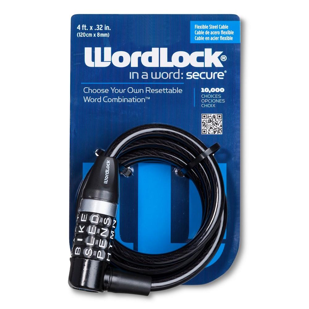 WordLock L-Head Cable Bike Lock - 8mm