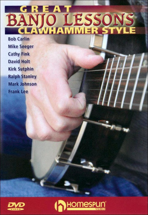 Great banjo lessons:Clawhammer style (DVD) - image 1 of 1