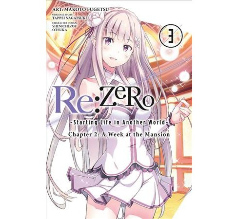 Re-Zero Starting Life in Another World 3 : A Week at the Mansion -  by Tappei Nagatsuki (Paperback) - image 1 of 1