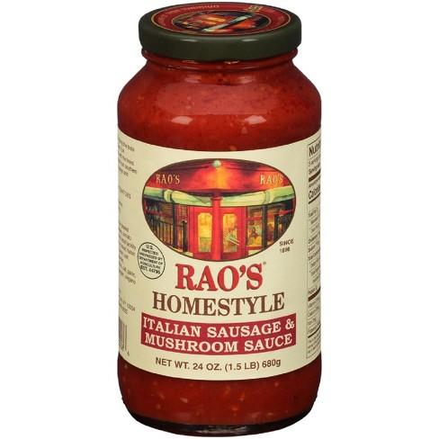 Rao's Homestyle Italian Sausage & Mushroom Sauce - 24oz - image 1 of 1