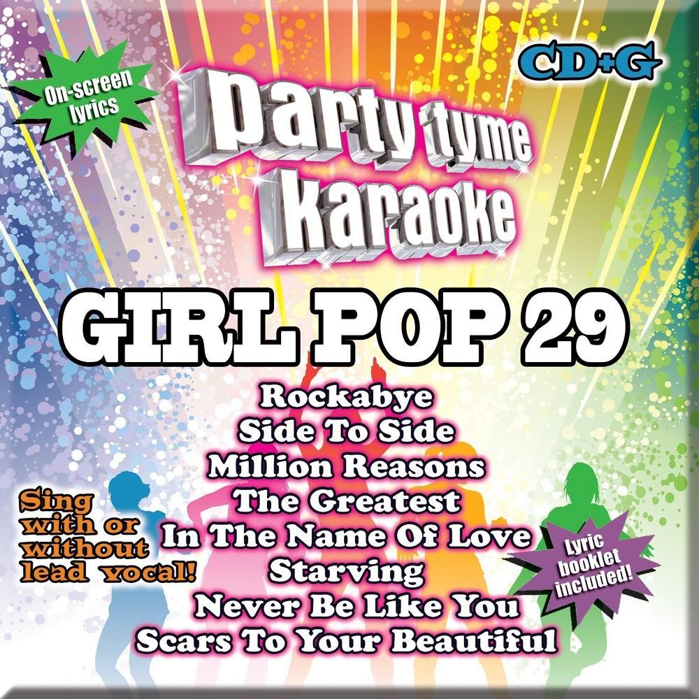 Party Tyme Karaoke - Girl Pop 29
