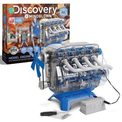 Discovery Kids Toy Model Engine Science Kit