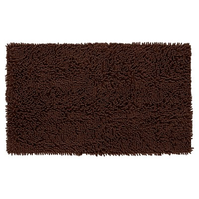 Solid Memory Foam Bath Mat - Brown - 20 x34  - Mohawk Home®