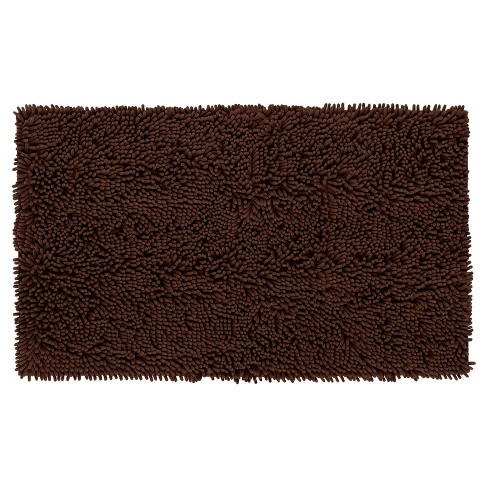 "Solid Memory Foam Bath Mat - Brown - 20""x34"" - Mohawk Home® - image 1 of 5"