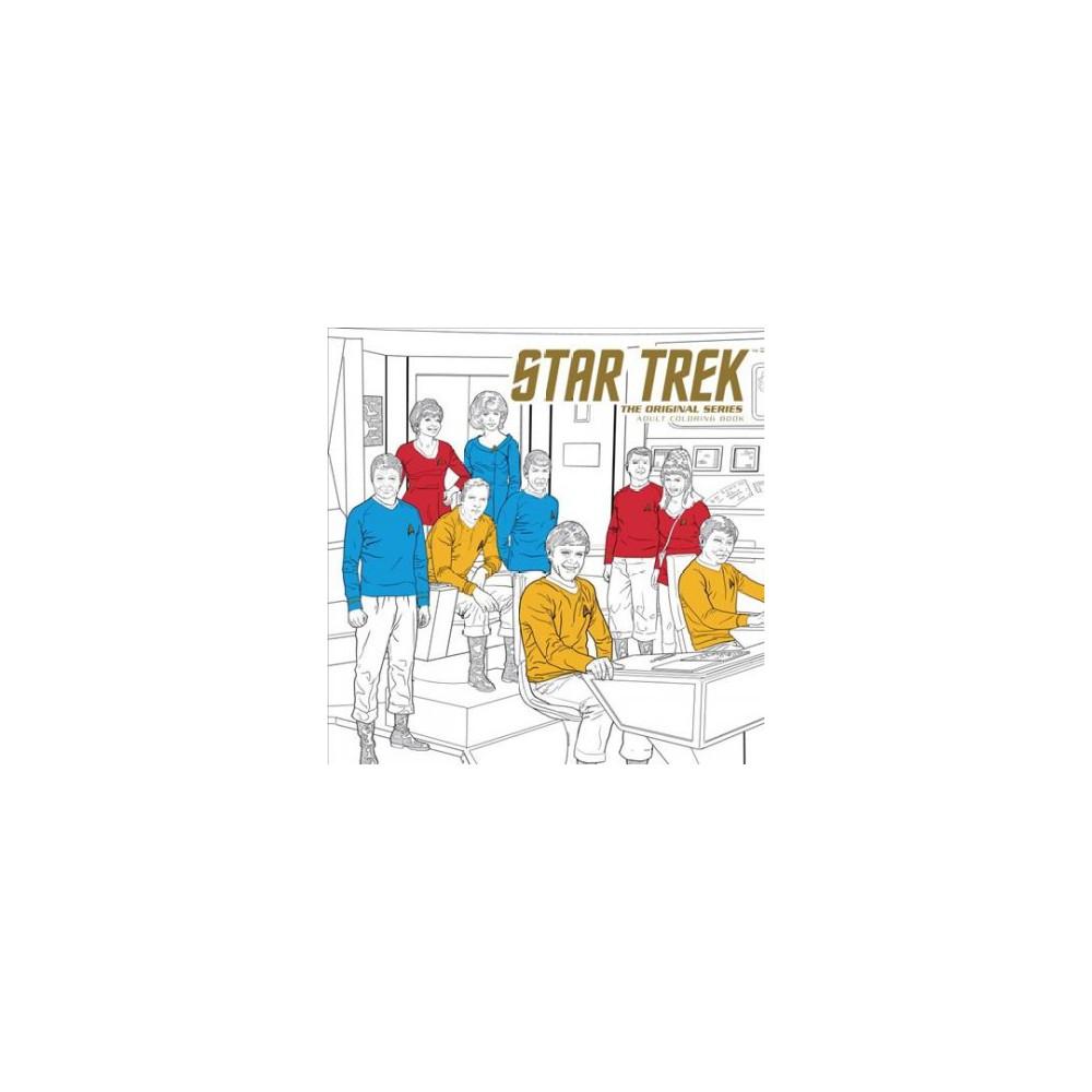 Star Trek the Original Series Adult Coloring Book.