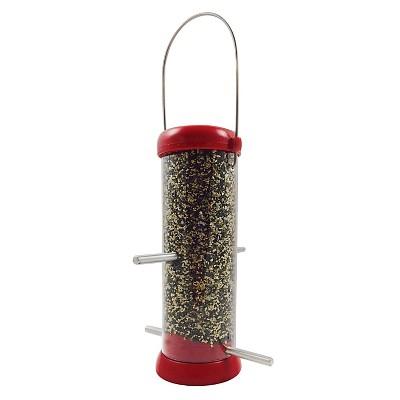 Droll Yankees Bird Lovers 8  Finch Feeder - Red