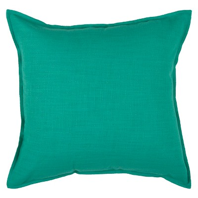 Turquoise Solid Throw Pillow 20 x20  - Rizzy Home®