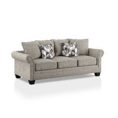 Parkcliffe Rolled Arms Sofa Gray/Navy Blue - HOMES: Inside + Out