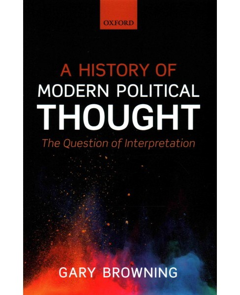 History of Modern Political Thought : The Question of Interpretation (Hardcover) (Gary Browning) - image 1 of 1