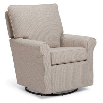 Best Home Furnishings Rhyatt Swivel Glider - Pebble