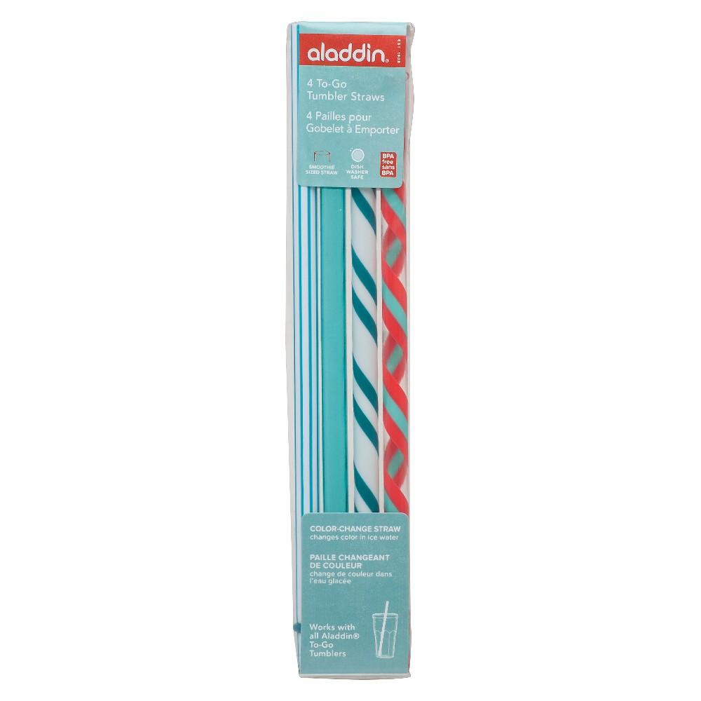 Aladdin To-Go Replacement Straws - Aqua, Multi - Colored