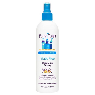 Static free hair products