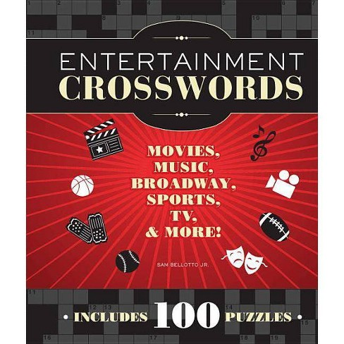 Entertainment Crosswords - by  Sam Bellotto (Spiral_bound) - image 1 of 1