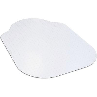 "2'x3'4"" Rectangle With Lip Office Chair Mat Clear - Dimex LLC"