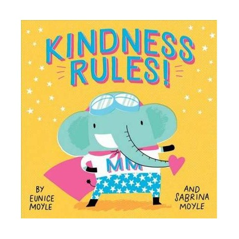 Kindness Rules! -  BRDBK (Hello! Lucky) by Eunice Moyle (Hardcover) - image 1 of 1